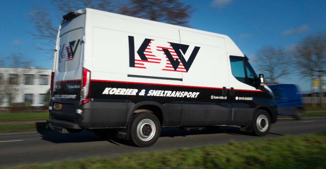 Bestelbus van KSW